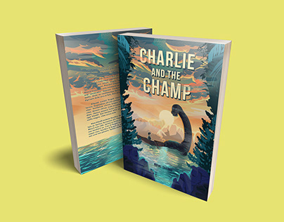Book Cover Design for Charlie and the Champ