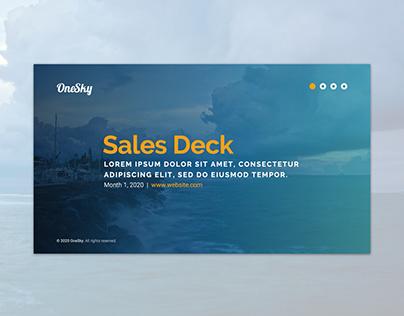 Sales Deck