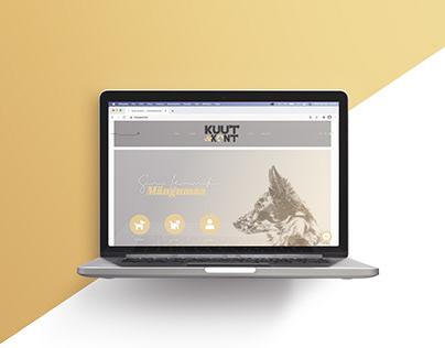 Kuut & Kont website