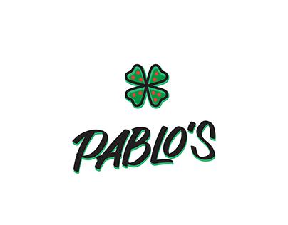 PABLO's Pizza - Brand identity