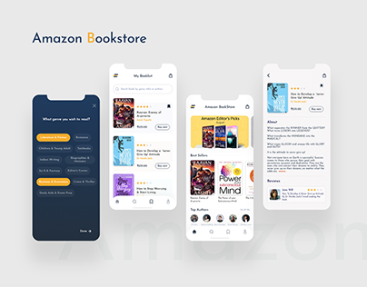 Amazon Bookstore App