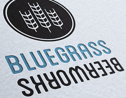 BlueGrass BeerWorks Branding