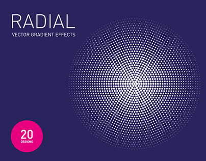 Radial Vector Gradient Effects