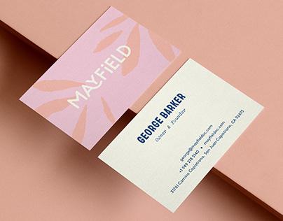Mayfield Restaurant & Market Branding