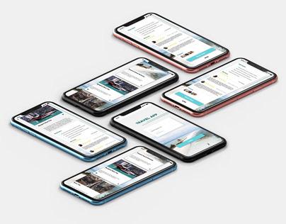 Travel App Ui Project