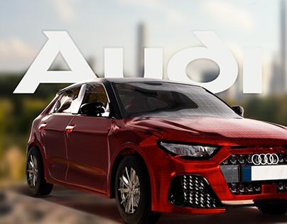 CAR 3D   AUDI A1