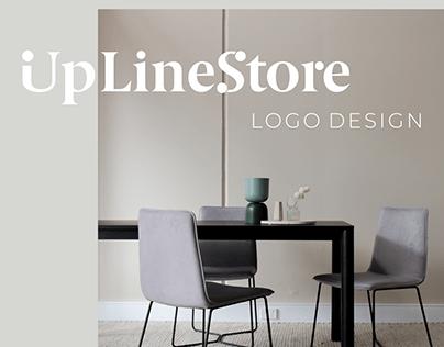 UpLine Store logo design