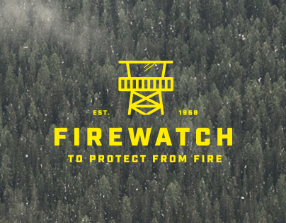 "Logo concept - ""Firewatch"" inspired"