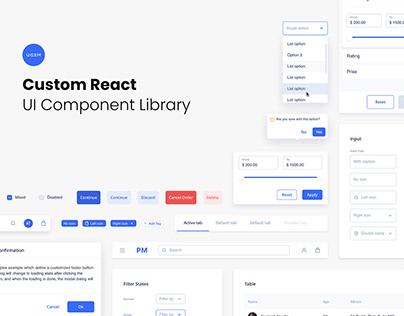 Custom React UI Library