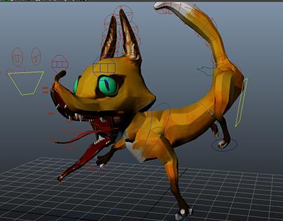 Toon Fox Rig