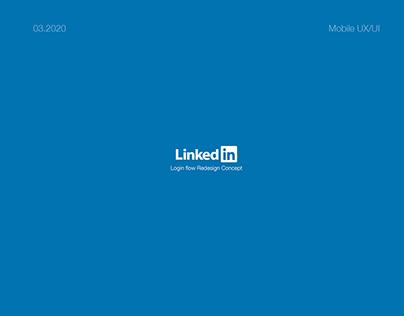 Redesign LinkedIn Login
