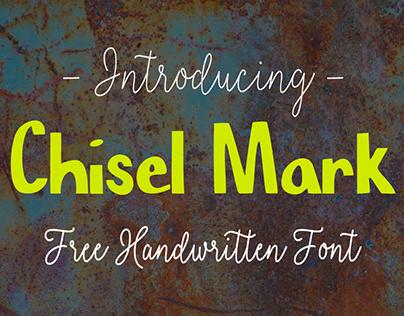 CHISEL MARK - FREE FONT