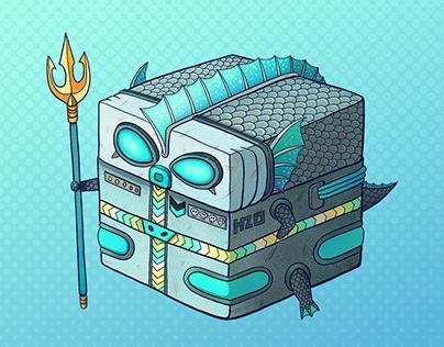 Triton Guardian of the ocean