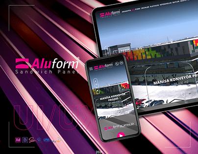 Aluform Sandwich Panel UI/UX & Development