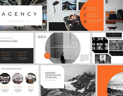 Agency - Google Slides Template