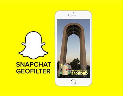 University of Baghdad: Snapchat Geofilter