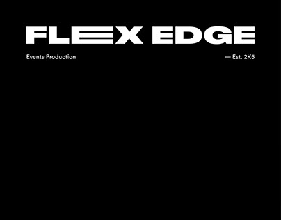 Flex Edge - Identity/UI Design