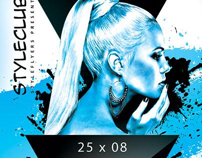 Guest DJ FREE Flyer PSD Template