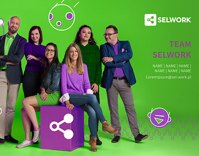 Key Visual for the SELWORK brand