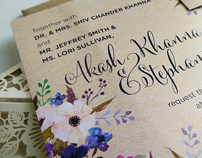 Wedding Invites and Stationary