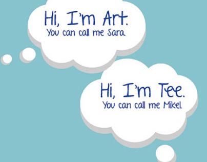 Web Graphic, 1 Part Art 1 Part Tee