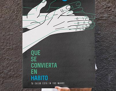 Afiche Covid-19