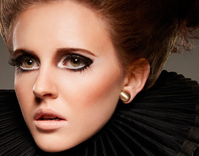 Elizabethan Collar Beauty