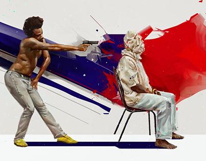 Childish Gambino 'This Is America' HQ Wallpaper