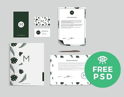 Stationary Set / Free Mockup