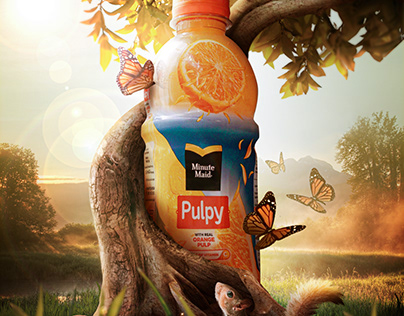 Pulpy Orange Advertisement: A Study