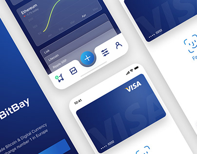 BitBay – Concept of Cryptocurrency App