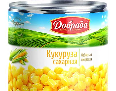 Preserved food «DOBRADA»