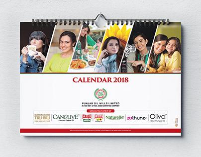 POM Calendar 2018