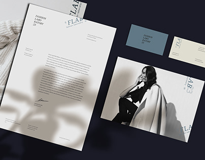Fashion laboratory / Corporate identity