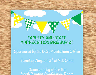 Faculty Party Invite
