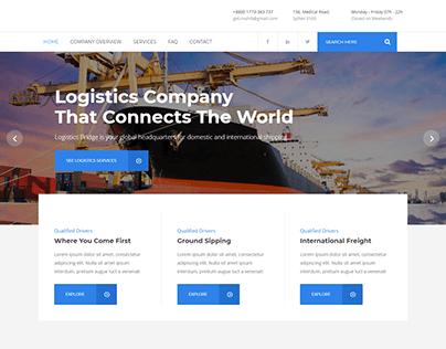 Transport Business WordPress Website