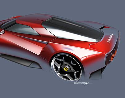 Ferrari Homage Concept