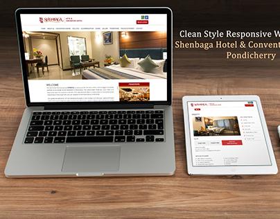 Shenbaga Hotel & Convention Centre Website