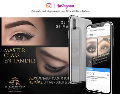 Campaña de Instagram Ads para ER Belleza