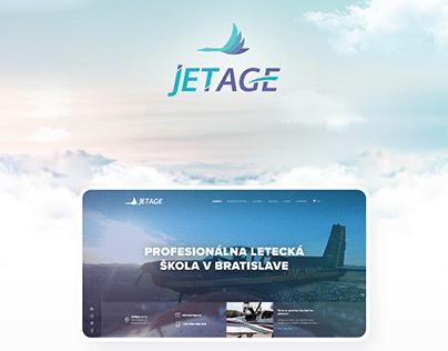 Jetage - web design