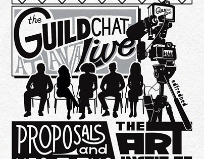 The Guild Chat Live Poster
