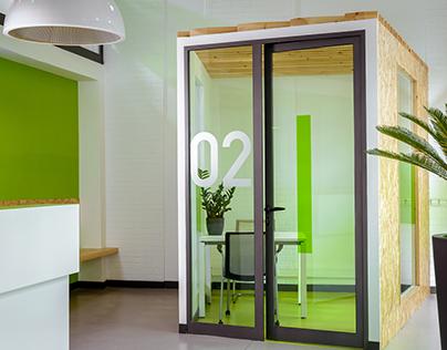 Espace d'accueil et bureaux - isosell groupe