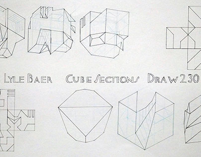 Cube Sections