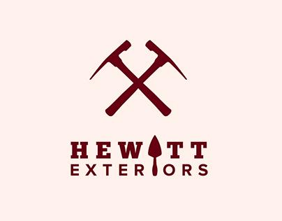 Hewitt Exteriors   branding & website