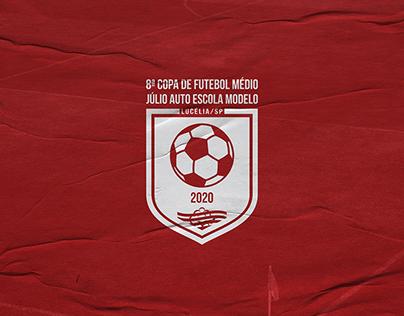 Copa Júlio Auto Escola | Branding
