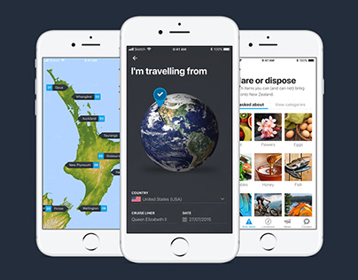 New Zealand travel app