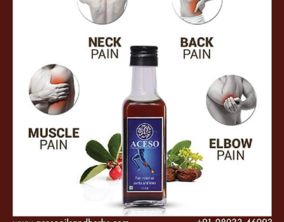 ACESO PAIN RELIEF  OIL