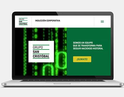E-learning San Cristóbal. INDUCCIÓN