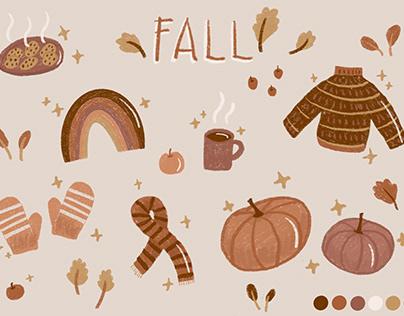 Fall Illustration