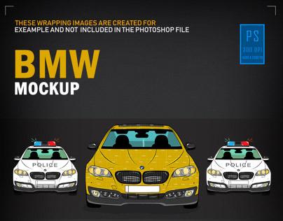 Bmw MockUp Design For Sale!